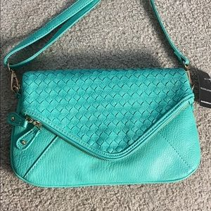 💕Wilson's leather sea green shoulder bag nwt $100